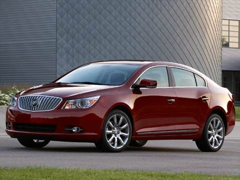 2011 Buick LaCrosse CXL Sedan 4D  photo