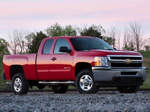 2011 Chevrolet Silverado 2500 HD Extended Cab Work Truck Pickup 4D 6 1/2 ft  photo