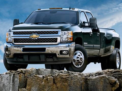 2011 Chevrolet Silverado 3500 HD Crew Cab Work Truck Pickup 4D 6 1/2 ft  photo