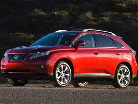 2011 Lexus RX RX 350 Sport Utility 4D  photo