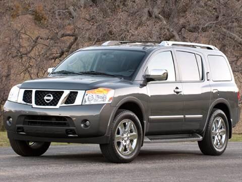 2011 Nissan Armada SL Sport Utility 4D  photo