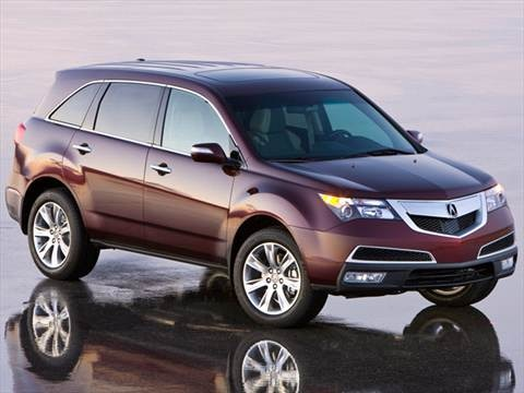 2012 Acura MDX Sport Utility 4D  photo