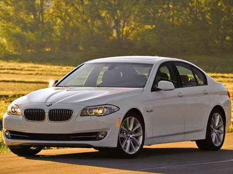 2012 BMW 5 Series 550i xDrive Sedan 4D  photo
