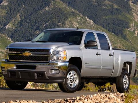 2012 Chevrolet Silverado 3500 HD Crew Cab Work Truck Pickup 4D 6 1/2 ft  photo