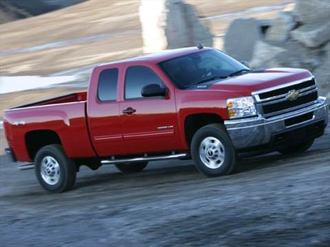 2012 Chevrolet Silverado 3500 HD Extended Cab Work Truck Pickup 4D 8 ft  photo