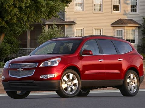 2012 Chevrolet Traverse LT Sport Utility 4D  photo