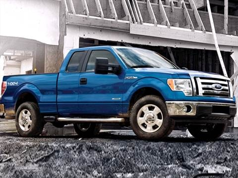 2012 Ford F150 Super Cab XL Pickup 4D 8 ft  photo
