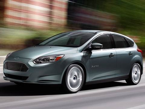 2012 Ford Focus Electric Hatchback 4D  photo