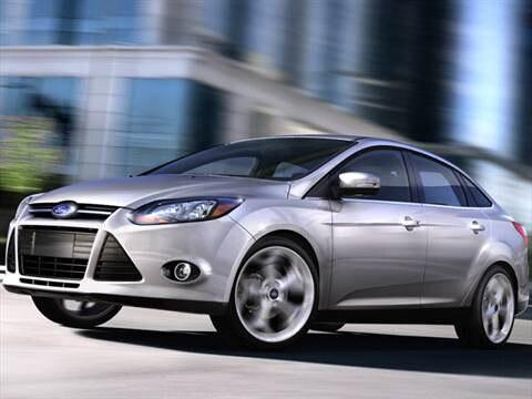 2012 Ford Focus Titanium Sedan 4D  photo