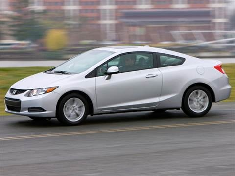 2012 Honda Civic EX-L Coupe 2D  photo