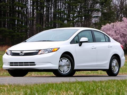 2012 Honda Civic HF Sedan 4D  photo