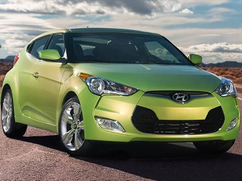 2012 Hyundai Veloster Coupe 3D  photo