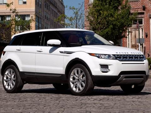 2012 Land Rover Range Rover Evoque Pure Sport Utility 4D  photo