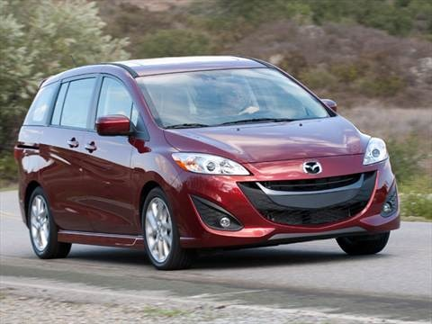 2012 Mazda MAZDA5 Touring Minivan 4D  photo