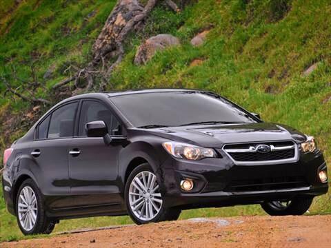 2012 Subaru Impreza 2.0i Sedan 4D  photo