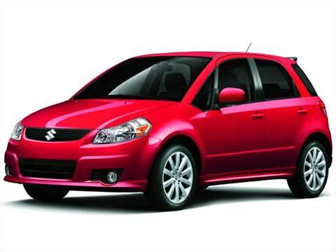2012 Suzuki SX4 Technology Value Pkg Hatchback 4D  photo