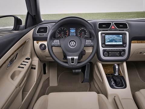 2012 Volkswagen Eos Komfort Hard Top Convertible 2D  photo