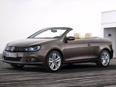 2012 Volkswagen Eos Komfort Hard Top Convertible 2D  photo