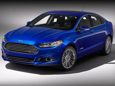 2013 Ford Fusion Titanium Hybrid Sedan 4D  photo
