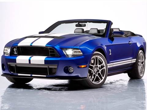 2013 Ford Mustang Shelby GT500 Convertible 2D  photo
