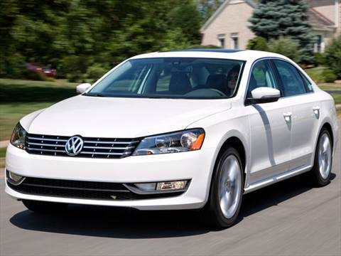 2013 Volkswagen Passat TDI SEL Premium Sedan 4D  photo