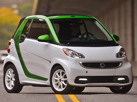 2014 smart fortwo electric drive 2-door   Hatchback Coupe photo