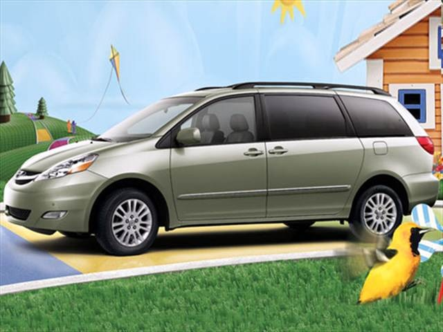 top consumer rated vans minivans of 2007 kelley blue book. Black Bedroom Furniture Sets. Home Design Ideas